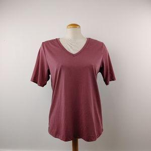 FRANK + OAK | Dusty Pink Ladies T Shirt